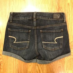 American Eagle Super Stretch Jean Shorts Midi 4